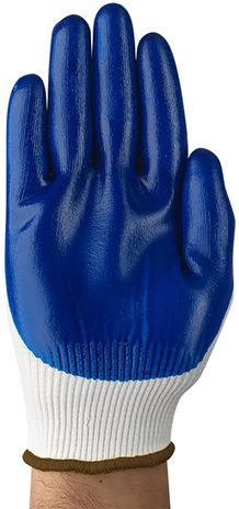 Ansell HyFlex Nylon Gloves 11-900 - Nitrile Palm Coated Back