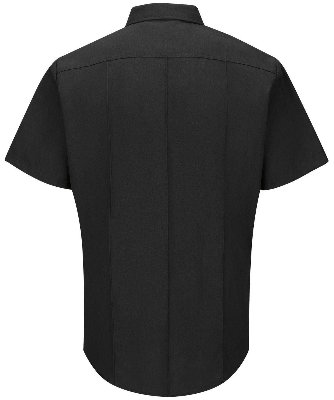 Workrite FR Firefighter Shirt FSF2 Classic Short Sleeve Black Back