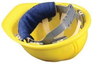 Occunomix 880 Clip-On Hard Hat Sweatband, 12 pc pack