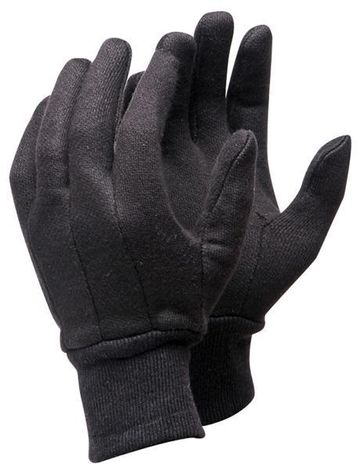RefrigiWear Cold Weather Apparel - Value Brown Jersey Glove 0206