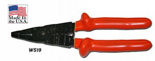 Cementex WS19 Insulated Wire Stripping Pliers