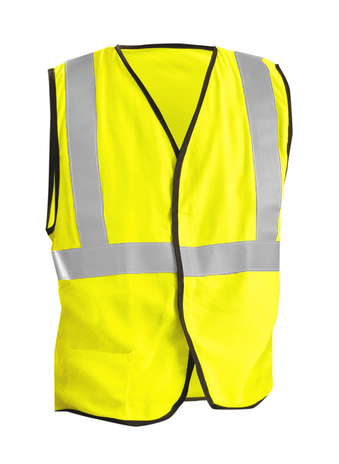 Occunomix OccuLux Flame Resistant Vest LUX-SSG/FR ASTM F1506 Front