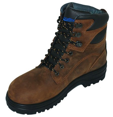 """Blundstone 143 XFOOT Lace-Up Steel Toe Safety Boots - 6"""", Water Resistant Right"""