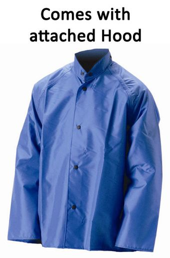 nasco worktruff lightweight hooded rain jacket