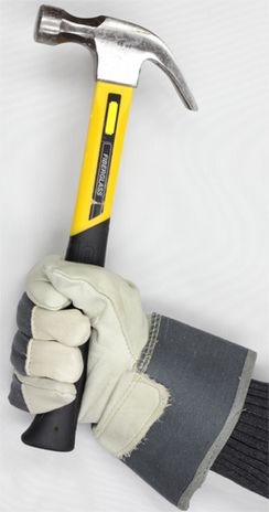 3M Thinsulate Lined Winter Work Gloves with Hammer