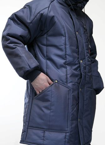 RefrigiWear Iron-Tuff Winter Work Parka 0360 - Side View