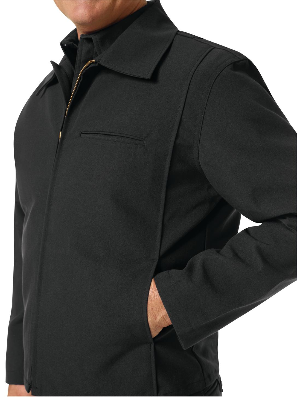 Workrite FR Firefighter Jacket FW20 Black Example