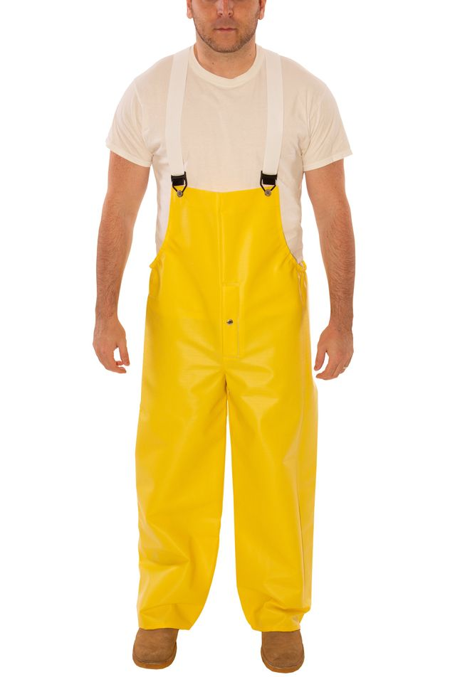 Tingley O31107 Webdri® Chemical Resistant Overalls - PVC Coated, Tear Resistant, Snap Fly Front