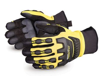 Superior Anti-Impact MXVSBFL Mechanics Gloves
