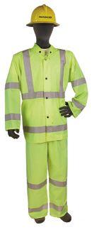 Nasco WorkLite HiVis 80J455 Ventilated Set-In-Sleeve Jacket