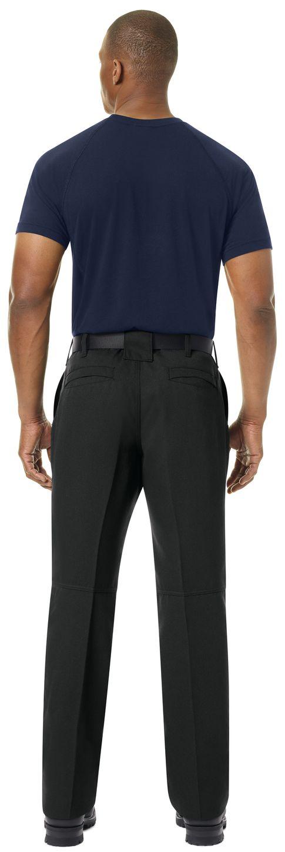 Workrite FR Pants FP30 Wildland Dual-Compliant Uniform Black Example Back