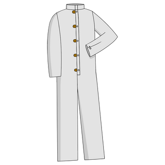 Otterlayer aluminized coverall CV1-ACF