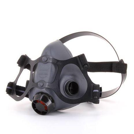 Honeywell North Safety 5500-Series Respirator Half Mask 550030 - Economical Elastomeric Left Side