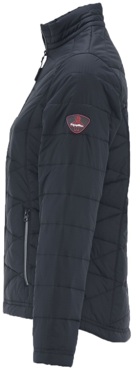 RefrigiWear 0423 Quilted Womens Insulated Work Jacket Left