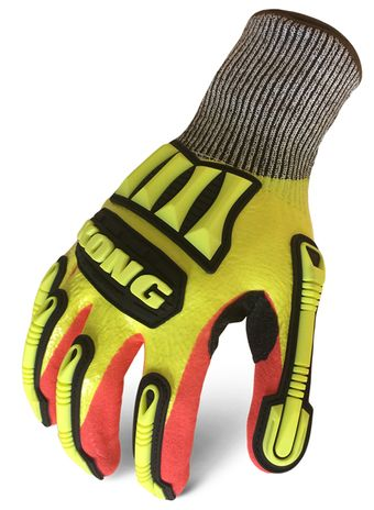 Ironclad MXC5 KONG® FULL-DIPPED KNIT CUT 5 Back