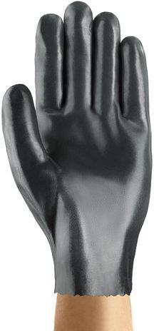 Ansell Edge Slip-on Gloves 40-105 Heavy Porous Nitrile Dipped Palm