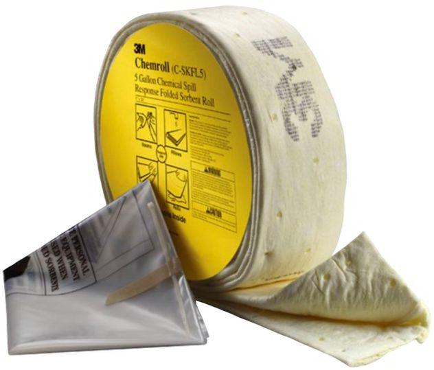 3M Chemical Sorbent Folded Spill Kit C-SKFL5