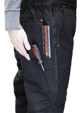 RefrigiWear ComfortGuard High Bib Work Overall 0685 - Leg Tool Pockets