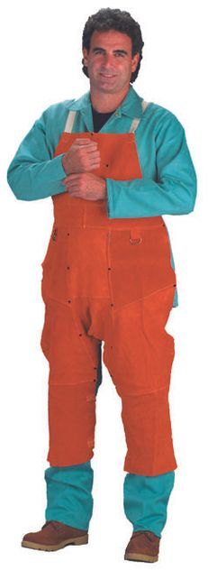 Chicago Protective 550-CL-48-SW Rust Split Leather Welding Split Leg Apron