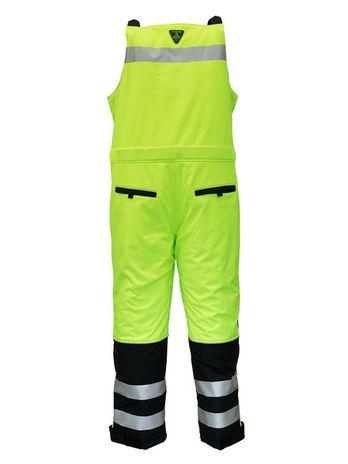 refrigiwear-0797-hivis-extreme-softshell-bib-overalls-blk-lime-back