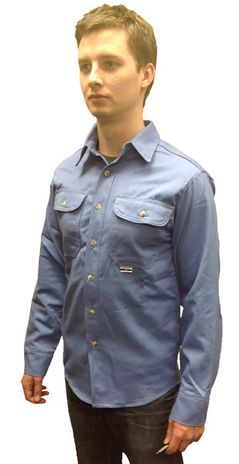 Flame Retardant Shirt 625-USB from Chicago Protective