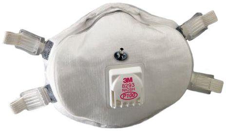 3M Probed Particulate Respirators 8293Q - P100