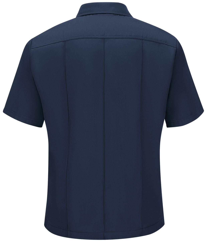 Workrite FR Shirt FSU2, Untucked Uniform, Station No. 73 Navy Back