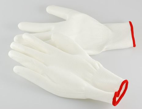 4Works HQ1201 Nylon Work Glove with PU Coated Palm