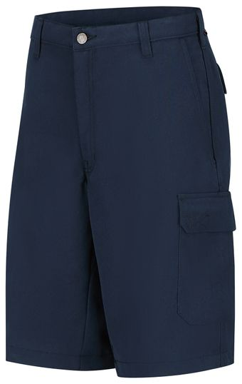 Workrite FR Cargo Shorts FP42, Classic 12-Inch Navy Front