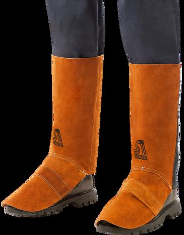 Steiner Split Cowhide Leggings 12186 Front