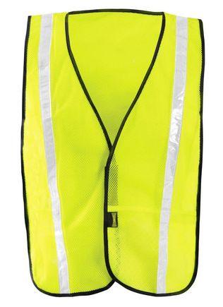 Occunomix LUX-XGTM Hi-Viz Mesh Gloss Vest Yellow Front
