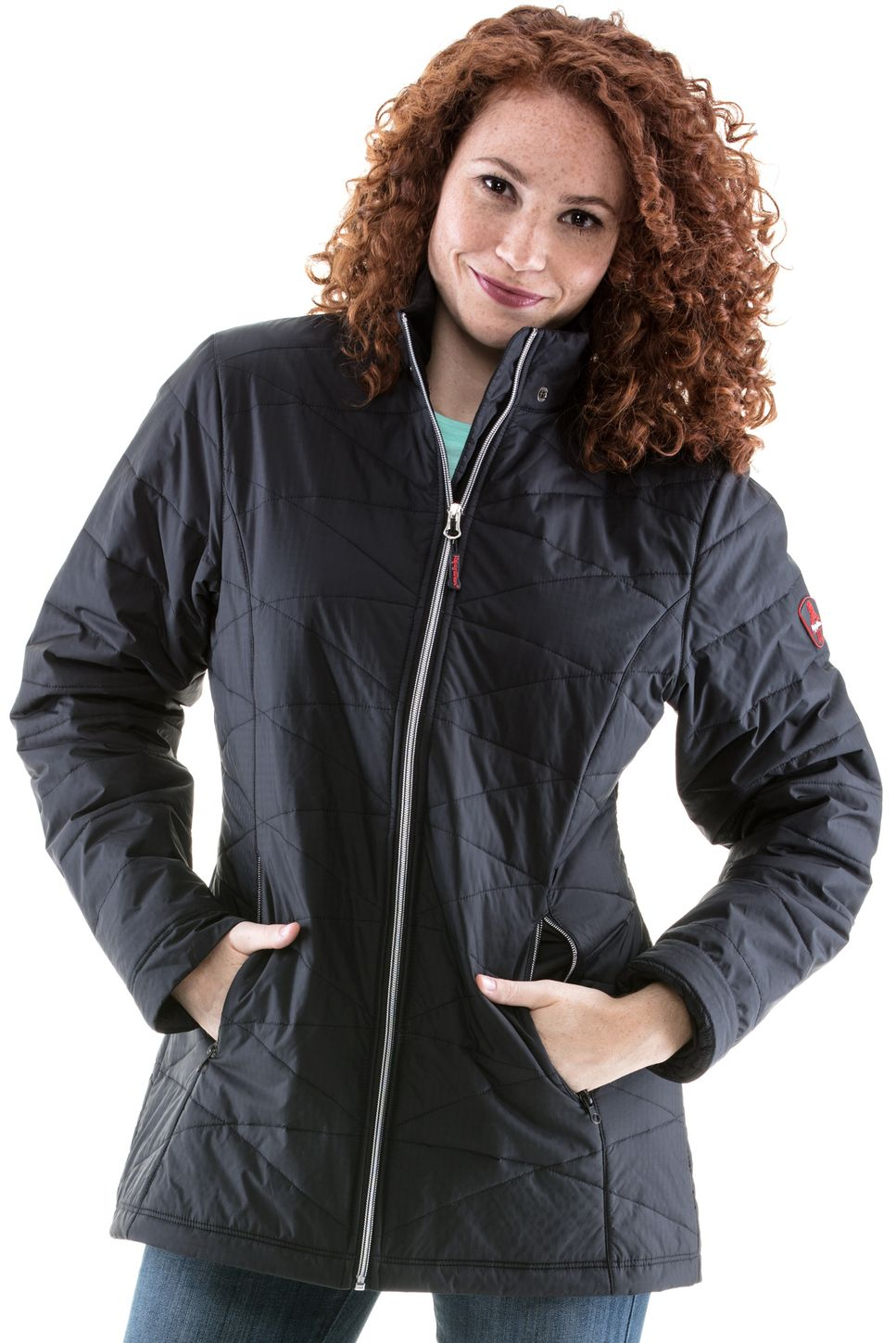 RefrigiWear 0423 Quilted Womens Insulated Work Jacket Example