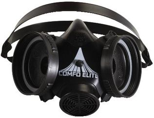 MSA Comfo Elite Half-Mask Respirator no Cartridges