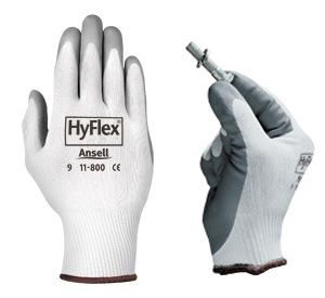 Ansell HyFlex 11-800 Nitrile Foam Coated Nylon Gloves