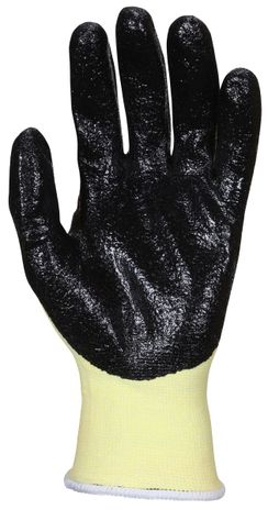 MCR Safety UltraTech Gloves 9693 Aramid Cut Protection with Textured Nitrile Palms Palm