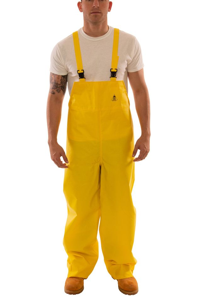 Tingley O56047 DuraBlast™ Flame Resistant Overalls - PVC Coated, Chemical Resistant Front