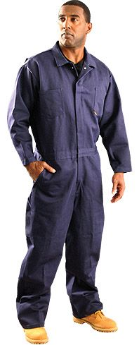 Occunomix Fire Resistant Indura Arc Flash Coverall - G909I Navy