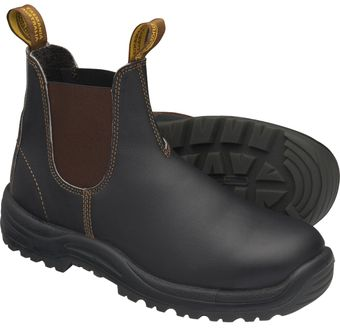 Blundstone 172 xTreme Safety Elastic Side Slip-On Steel Toe Boots